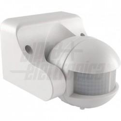 Sensore Pir Da Parete Bianco