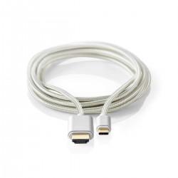 Cavo Usb-C /HDMI 2mt Alu