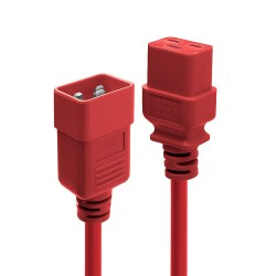 Prolunga Iec C19/C20 2m Rossa