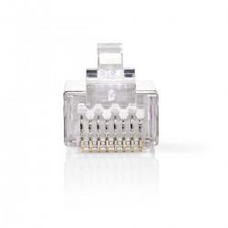 Conf.10 Plug Rj45 Cat6 Stp...