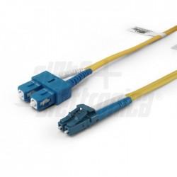 Patch fibra lc/sc 5m 9/125 mon