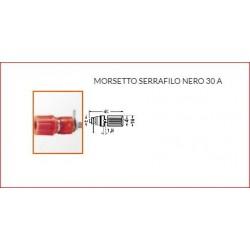Morsetto Serrafilo 30a Nero