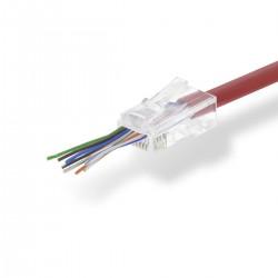 Conf.10 Plug Rj45 Cat5...