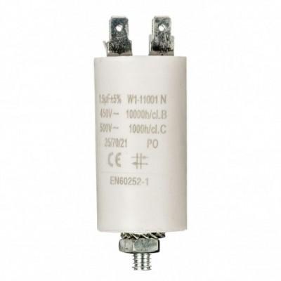 condensatore 1.5mf 450v +grd