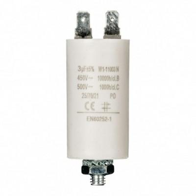 condensatore 3mf 450v +grd