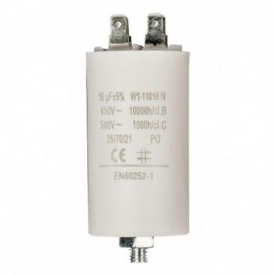 condensatore 16mf 450v + grd