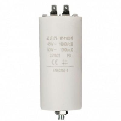 Condensatore 50mf 450v 45x117