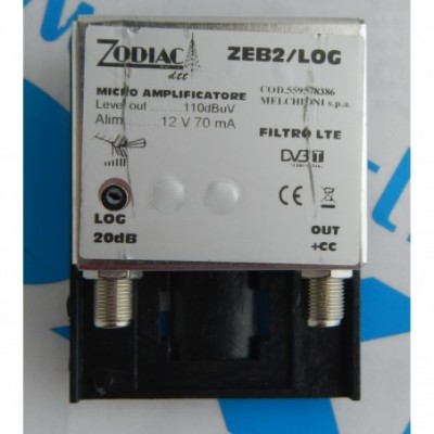Amplif.Zeb2/Lg 1in 1out 20db