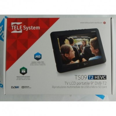 ts09 monitor tv 9' dvb-t2...