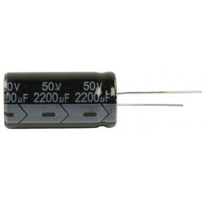 cond. elettr. 2200mf 50v 16x35