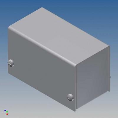 Box Allum. Teko 38x72 H43mm