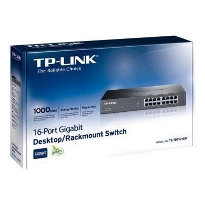Tl-Sg1016d Switch 16p...