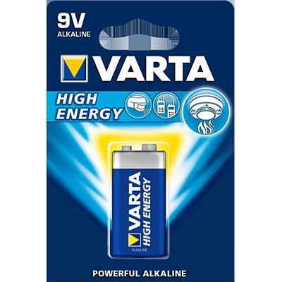 Batteria Varta 9v Alcalina...