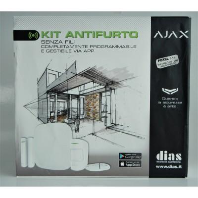 Ajax Kit Allarme Centr.+2...