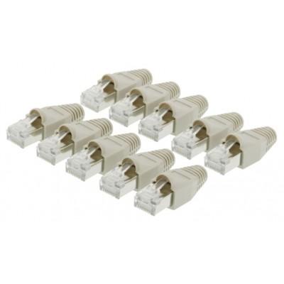 Conf.10 plug rj45 8p/8c con...