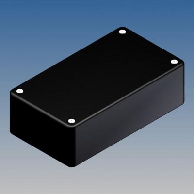 Box plast. 125x70x39