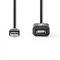 Usb Extension A M/F 5mt