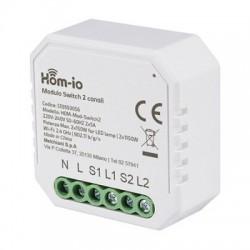 Modulo Switch 2ch A Rele'...