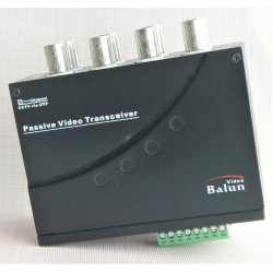 Balun Passivo 8ch Bnc /2 Rj45