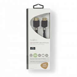 Cavo Hdmi M/M 2mt Gold 3d...