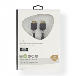Cavo Hdmi M/M 5mt Gold 4k...