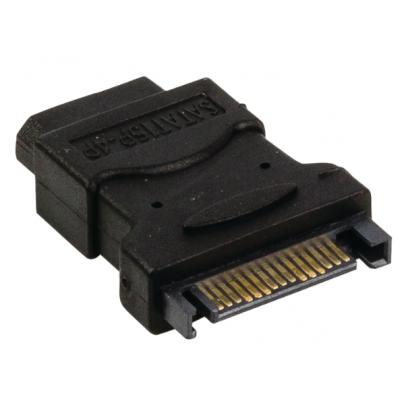 ADATT. ALIM.PC SATA 15P/MOLEX